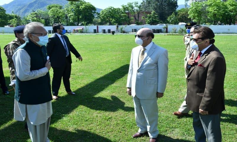 Alvi condemns repression in held Kashmir