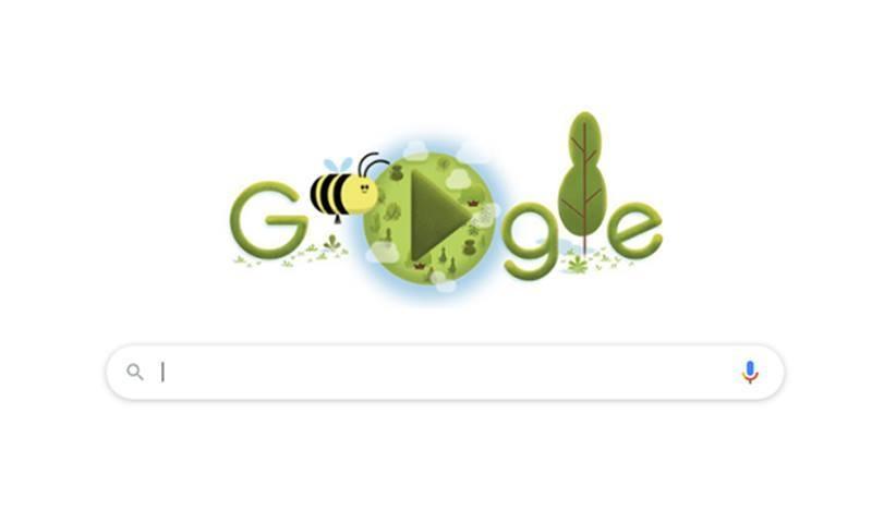 عالمی یوم ارض پر گوگل کا دلچسپ گیم ڈوڈل