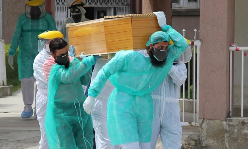 پاکستان میں وائرس سے 248 افراد انتقال کرچکے ہیں—فائل فوٹو: رائٹرز