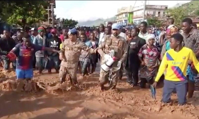 پاکستانی امن فوجیوں نے کانگو میں سیلاب سے 2 ہزار لوگوں کو بچا لیا