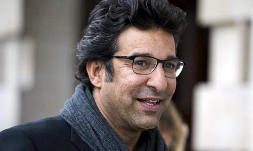 In online session, Wasim gives bowlers tips on improving in their performance. — AFP/File