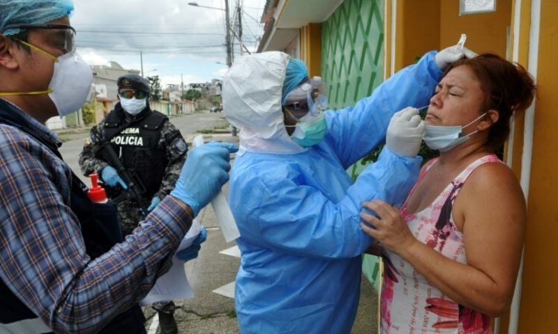 Front line medics in coronavirus epicentre lift the lid on the daily horrors they face. — AFP