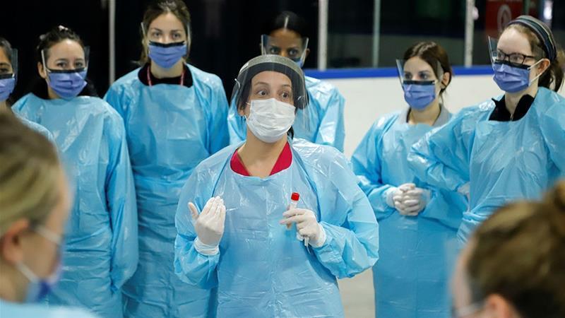 کینیڈائی طبّی عملہ—رائٹرز