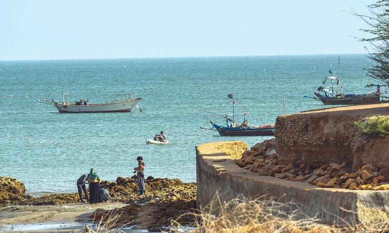 A PART of the Hawkesbay beach.—Fahim Siddiqi / White Star