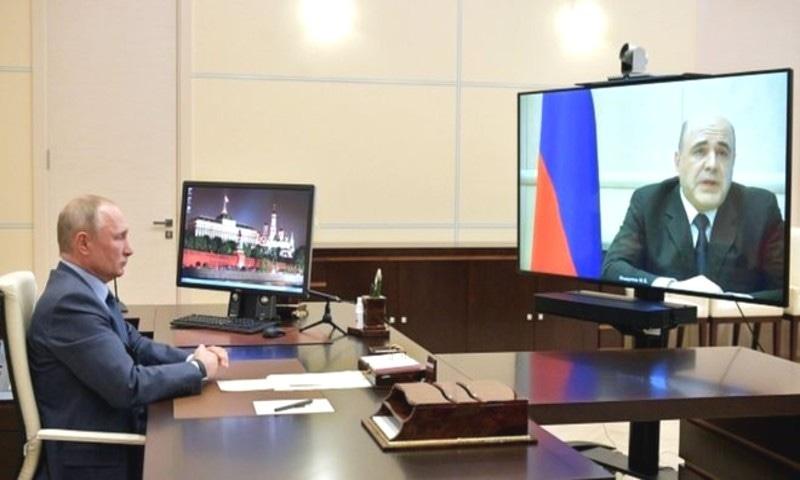 روسی وزیر اعظم میں کورونا کی تصدیق، ہسپتال منتقل