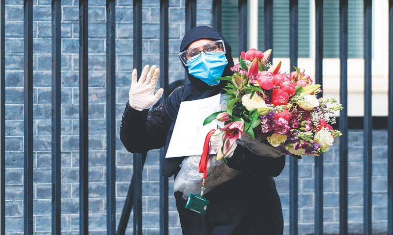 Pakistan mission's flower delivery for Boris goes viral