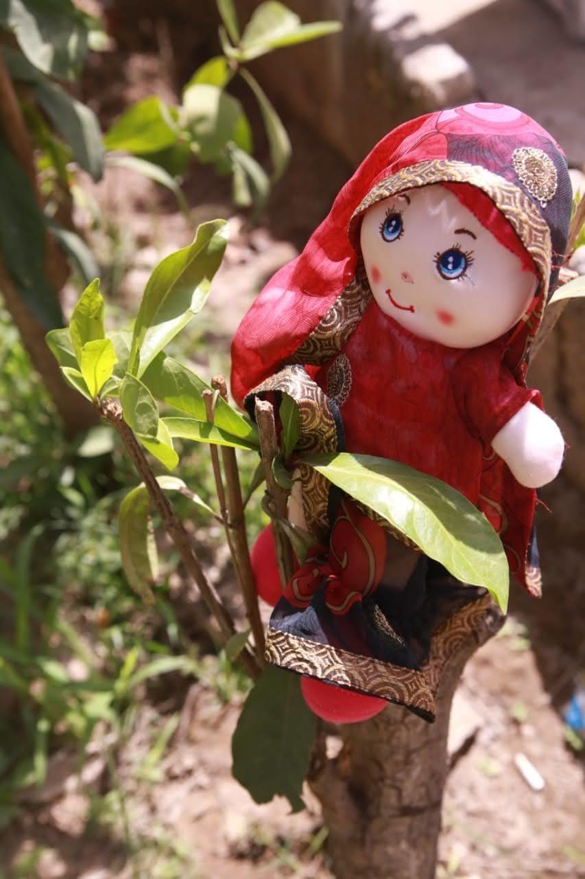 Emaan's brainchild, Fizza, the doll | Courtesy Zunaira Danish