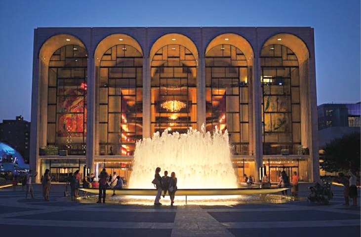 The usually busy Lincoln Center in New York | Reuters