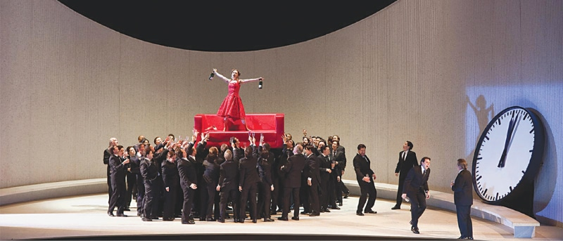 A 2012 production of La Traviata, recently made available online | The Met Opera