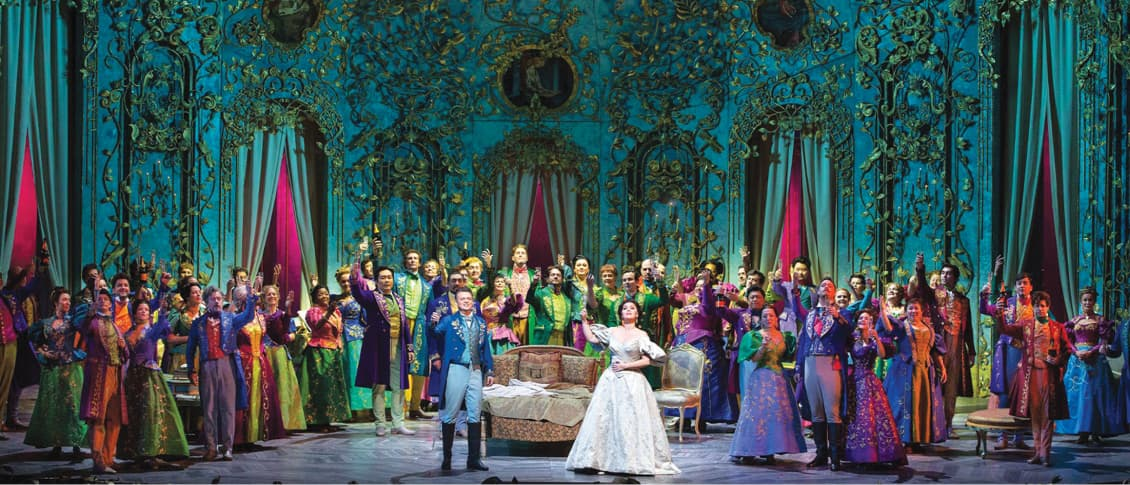 A forthcoming production of La Traviata | The Met Opera