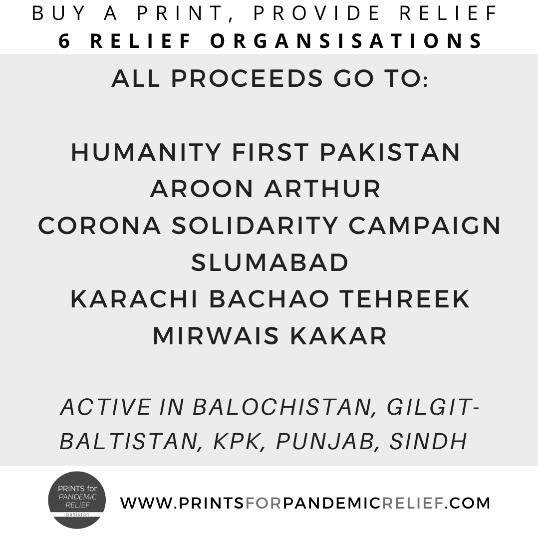 Prints for Pandemic Relief has teamed up with 6 grassroots organisations and activists