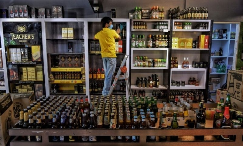 """Delhi may slap 70pc """"special corona fee"""" on liquor sales to boost revenue badly hit by the pandemic. — AFP/File"""