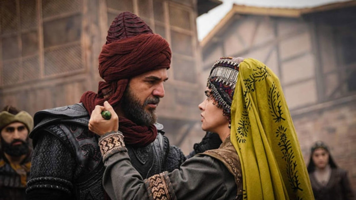 A still from Dirilis Ertugrul