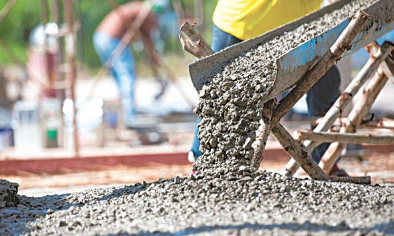 Cement sales plunge as construction comes to a halt