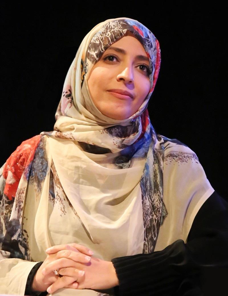 یمن کی نوبل انعام کارکن توکل کرمانی بھی جیوری کا حصہ ہیں—فوٹو: وویمن چیئر