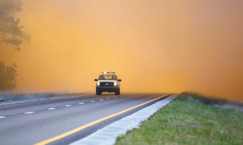 Wildfires Force Hundreds to Evacuate in Florida Panhandle