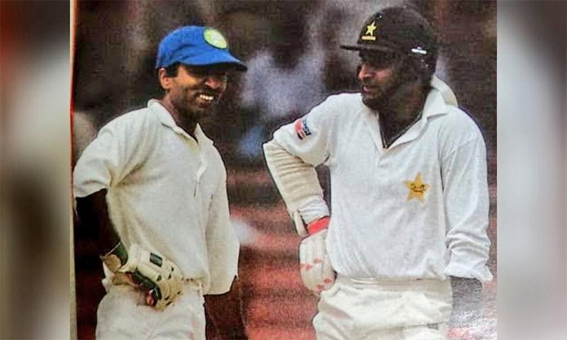 سعید انور اور عامر سہیل پر مبنی پاکستان کی کامیاب ترین اوپننگ جوڑی—فوٹو: ٹوئٹر