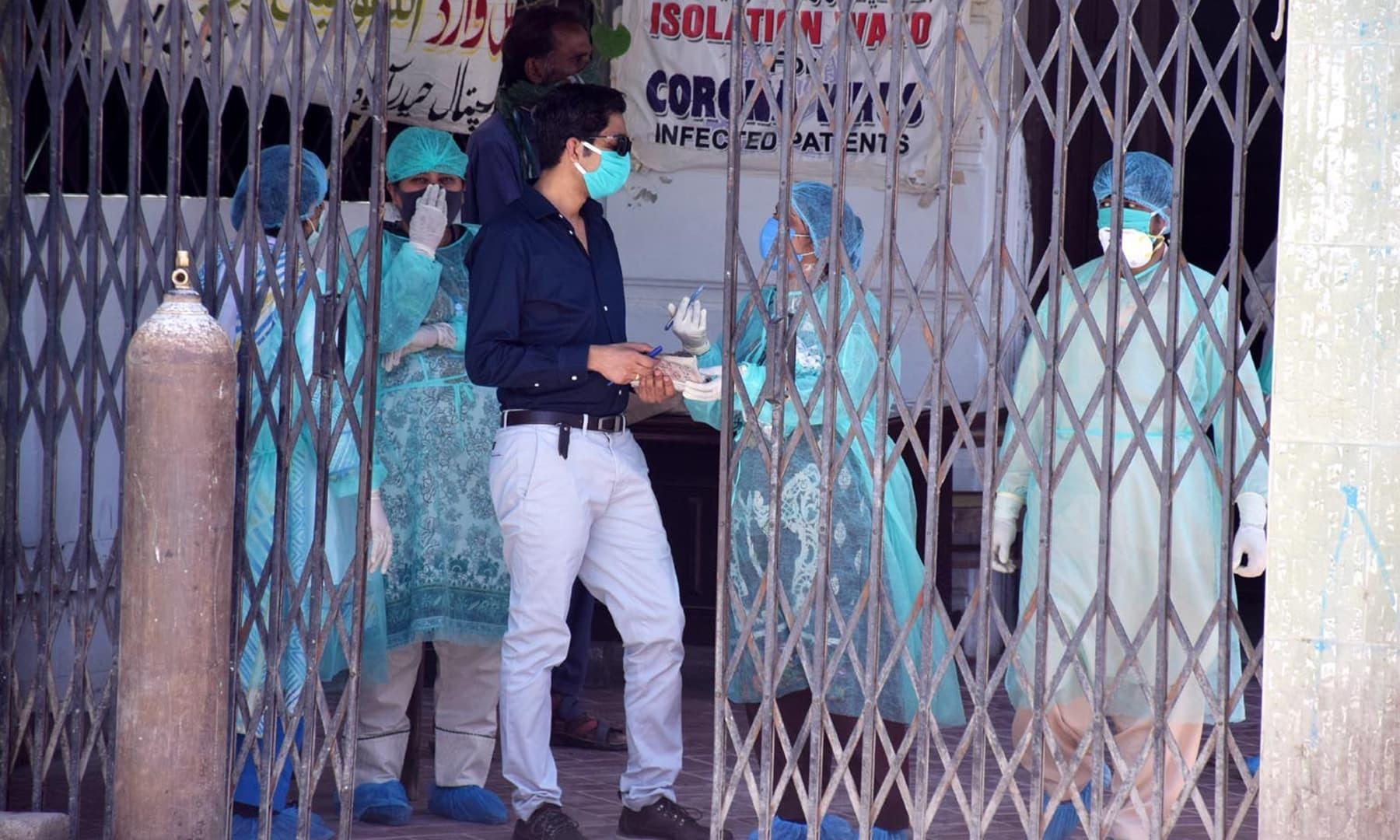 لاک ڈاؤن نے حیدرآباد سمیت پورے ملک بلکہ پوری دنیا کے معمولات زندگی کو متاثر کردیا ہے—تصویر بشکریہ عمیر علی