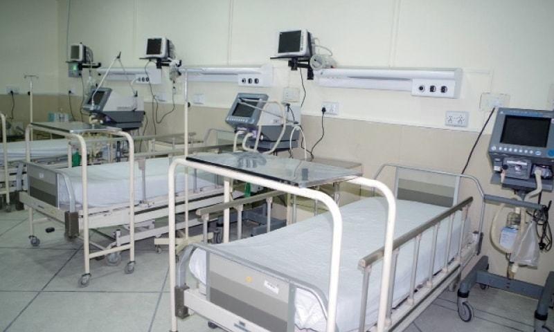 پنجاب بھر میں ہسپتالوں کے 54 فیصد بستر کورونا مریضوں کے زیراستعمال