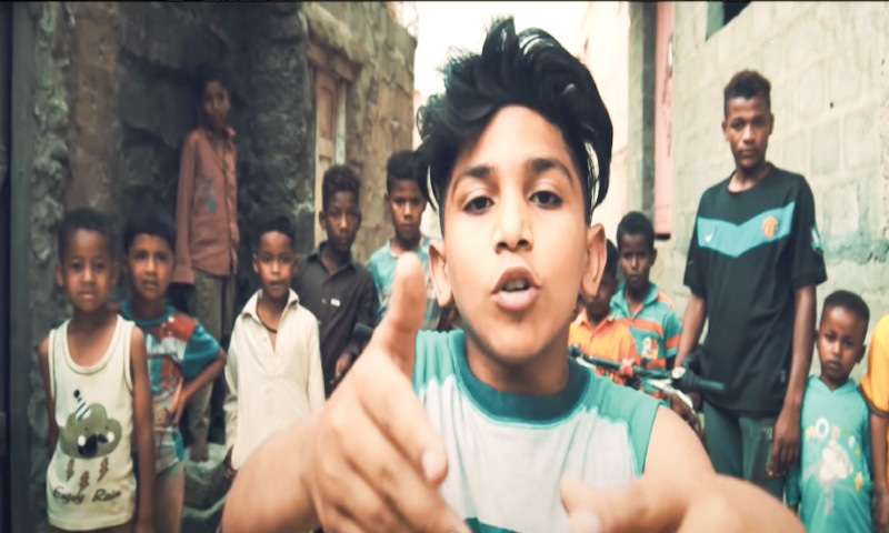 The youngest rapper to break through from Lyari, Kaki Thou$and