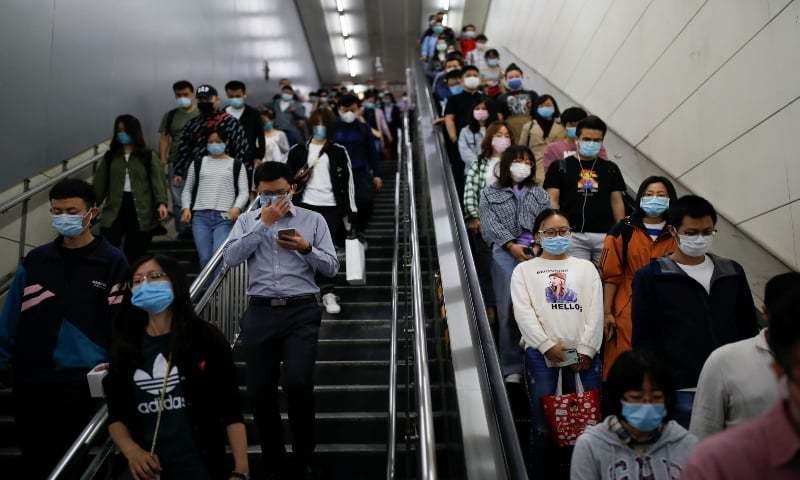 لاک ڈاؤن ختم ہونے کے ایک ماہ بعد چین میں کورونا کی نئی لہر
