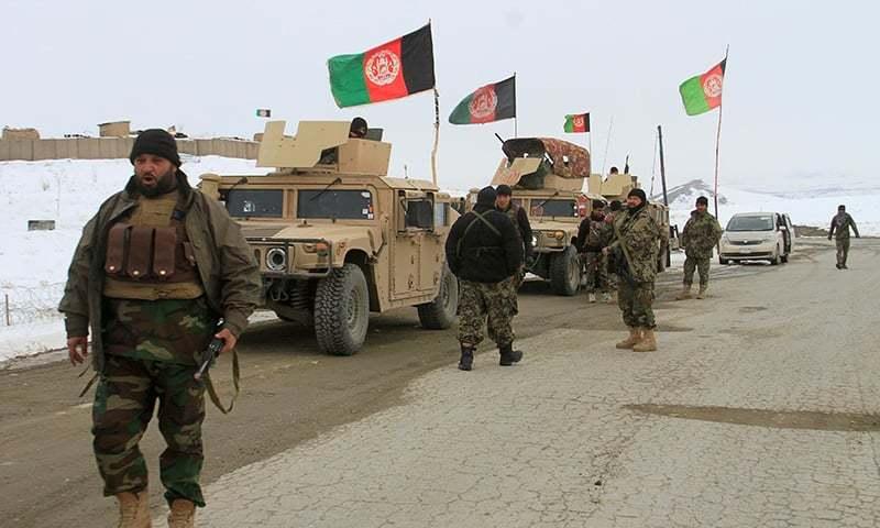 افغان سیکیورٹی فورسز نے کابل میں کارروائی کے دوران ان اہم دہشت گردوں کو گرفتار کیا— فائل فوٹو: رائٹرز