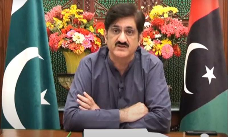 وزیراعلیٰ سندھ—فوٹو: اسکرین شاٹ