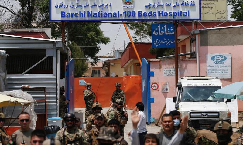 کابل کے ہسپتال میں 13 افراد مارے گئے—فوٹو:رائٹرز
