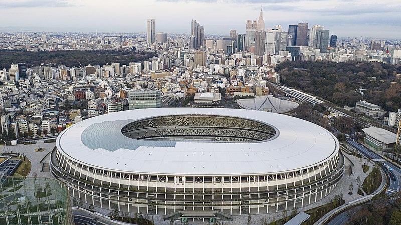 نیو نیشنل اسٹیڈیم ٹوکیو—کری ایٹو کامنز