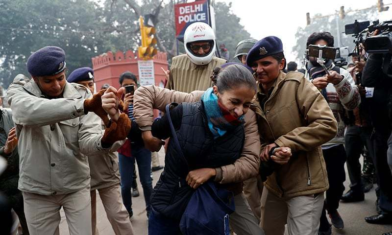 The passage of the CAA had triggered weeks of sometimes violent protests against Prime Minister Narendra Modi's government. — Reuters/File