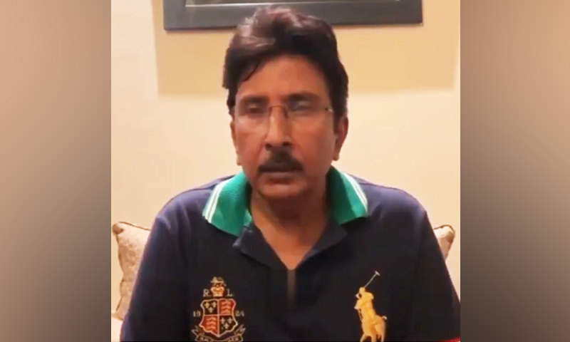 Salim appeals to PM Imran Khan to take action over Nadeem Khan's appointment citing lack of merit. — YouTube screengrab