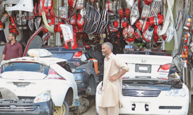 Imports of auto parts, accessories jump