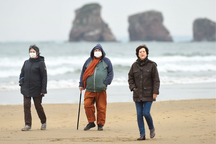 Europe's beaches reopen as lockdowns ease