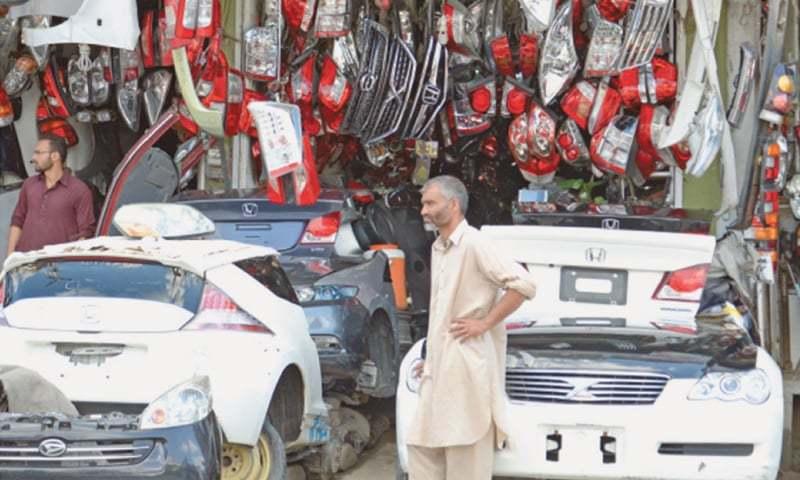 گاڑیوں کے سازوسامان اور متعلقہ اشیا کی درآمدات میں اضافہ