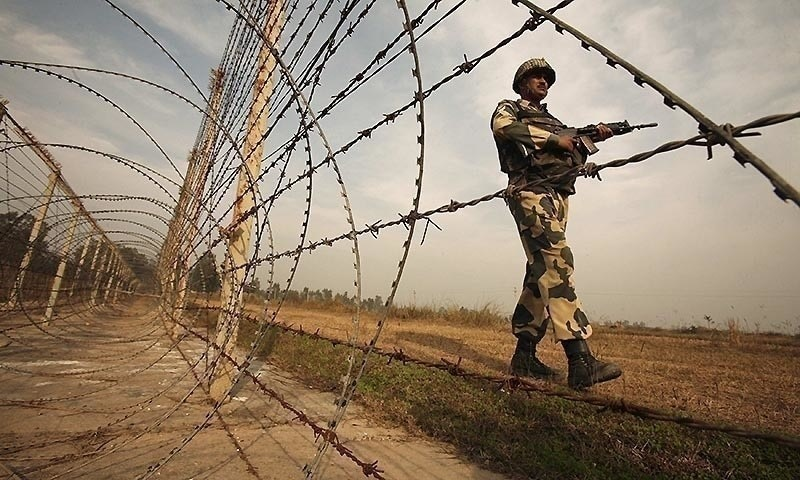 A civilian was injured after Indian troops resorted to unprovoked firing in Khuriatta sector along the Line of Control. — AFP/File