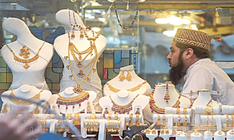 Gold hits Rs97,000 per tola