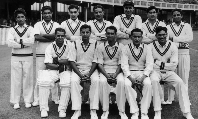 پاکستانی ٹیم کے اسکواڈ میں شامل چند کھلاڑیوں کی تصویر