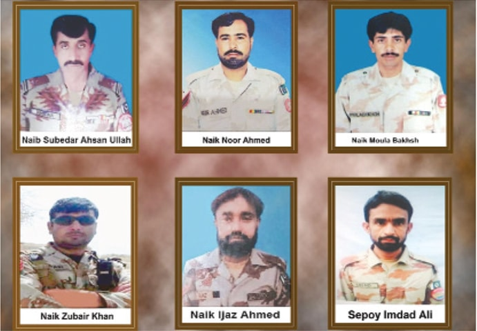 Seven troops martyred in two attacks in Balochistan
