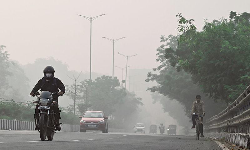 World carbon pollution falls 17pc during pandemic peak