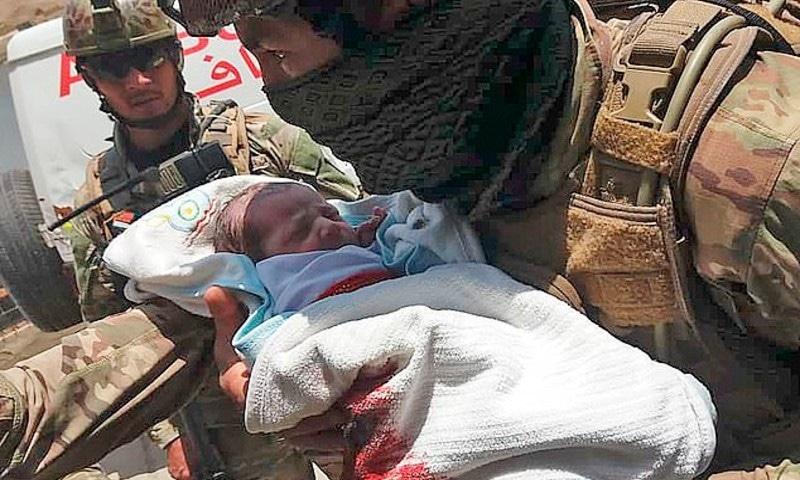 تین حملہ آوروں نے ایک گھنٹے تک ہسپتال کو یرغمال بنائے رکھا تھا—فوٹو: اے ایف پی