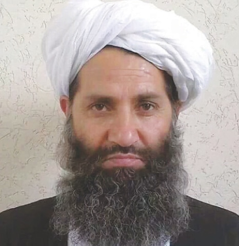 Mullah Haibatullah Akhundzada.—AFP
