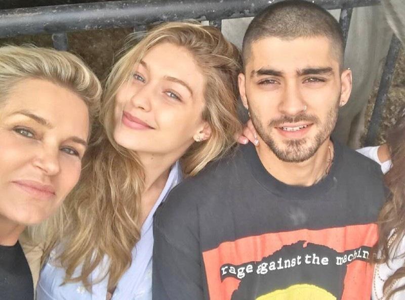 زین ملک اور جی جی حدید کئی ماہ سے ایک ساتھ رہ رہے ہیں—فوٹو: انسٹاگرام