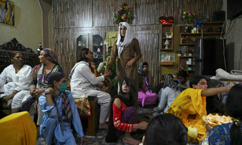 Transgender people are largely shunned by Pakistani society. — AFP