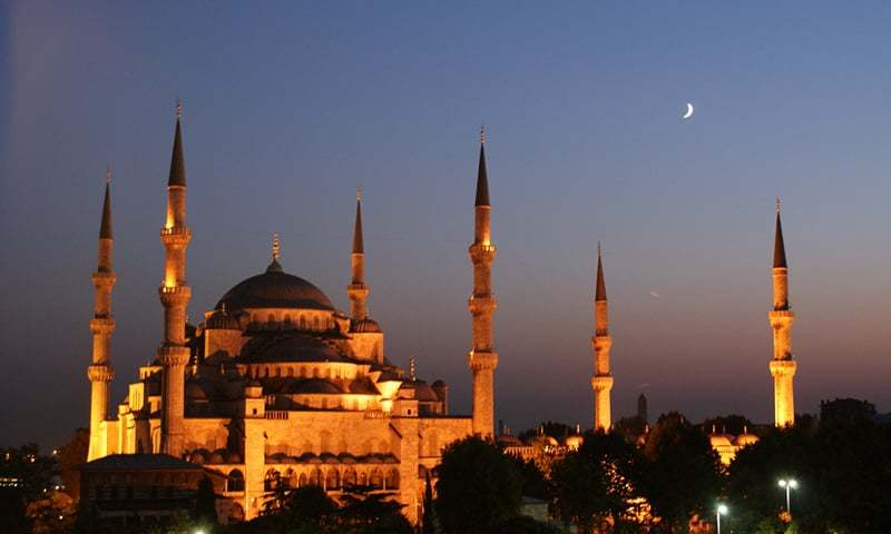Blue Mosque of Istanbul at night. —Creative Commons/File