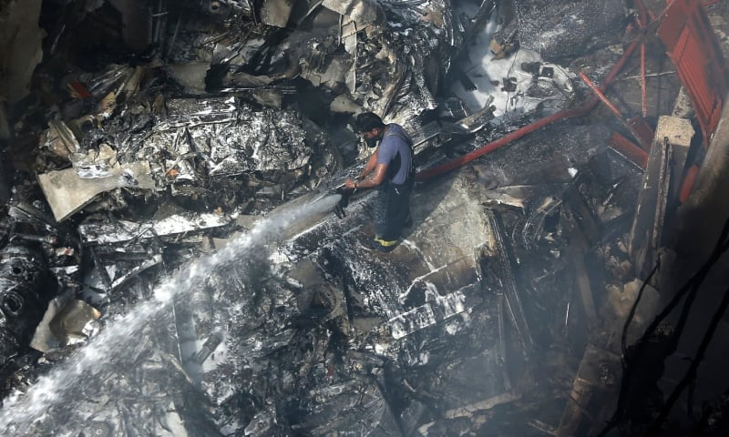 طیارہ حادثے کی تحقیقات کیلئے 4 رکنی ٹیم تشکیل