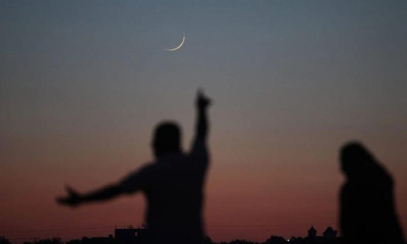 شوال کا چاند نظر آگیا، عید الفطر اتوار کو منانے کا اعلان
