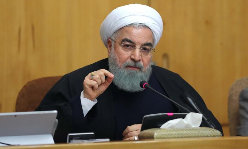 ایرانی  صدر حسن روحانی نے امریکا کو خبردار کیا کہ وہ ایرانی جہازوں کیلئے مسائل پیدا نہ کرے— فائل فوٹو: اے ایف پی