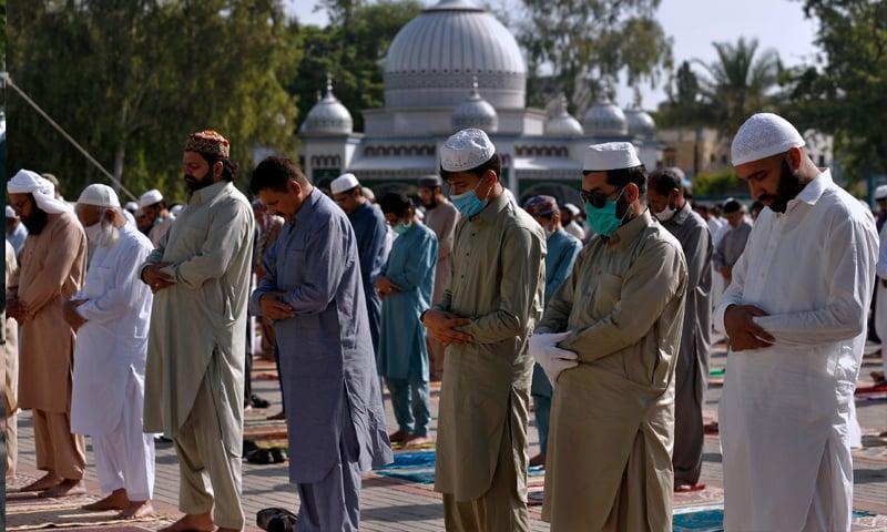 ملک میں کورونا کے باعث سادگی سے عیدالفطر منائی گئی