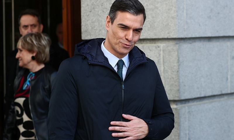 """""""The time has come to recover many of our daily activities,"""" says Spain's Prime Minister Pedro Sanchez. — Reuters/File"""