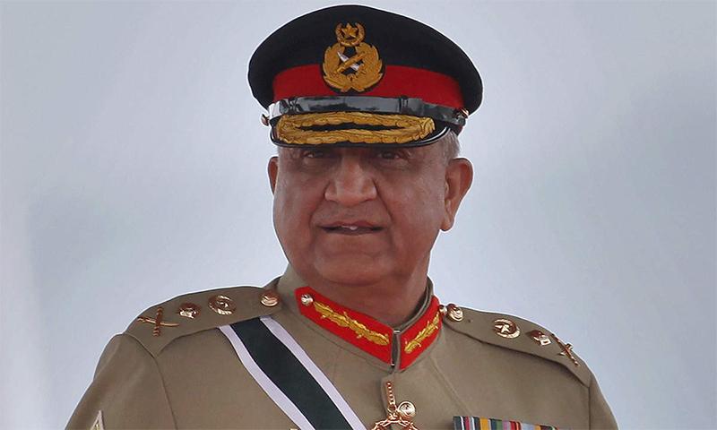 آرمی چیف کے مطابق بھارت کی سیاسی و فوجی سازشوں کا منہ توڑ جواب دیا جائے گا— فوٹو بشکریہ آئی ایس پی آر